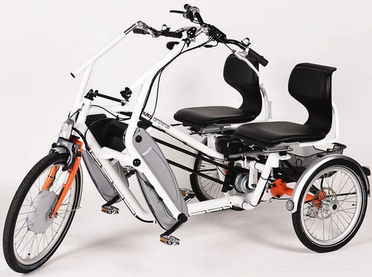 Orion Side By Side Adult 8 Speed Recumbent Tandem Tricycle