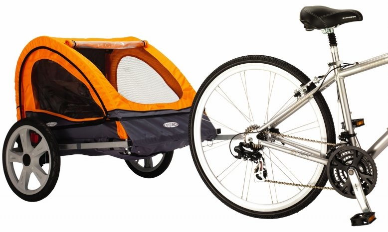 Instep Quick N EZ Double Bike Trailer / Stroller