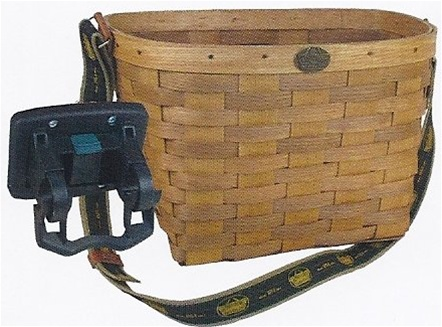 Peterboro Quick Release Shoulder Strap Bicycle Basket