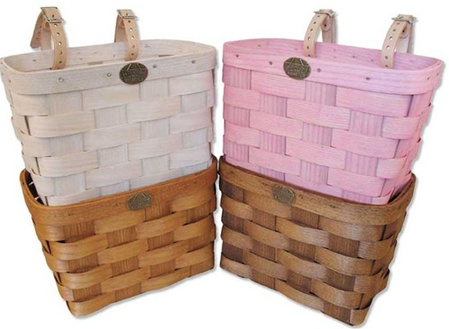Peterboro Standard Woven Ash Bicycle Basket