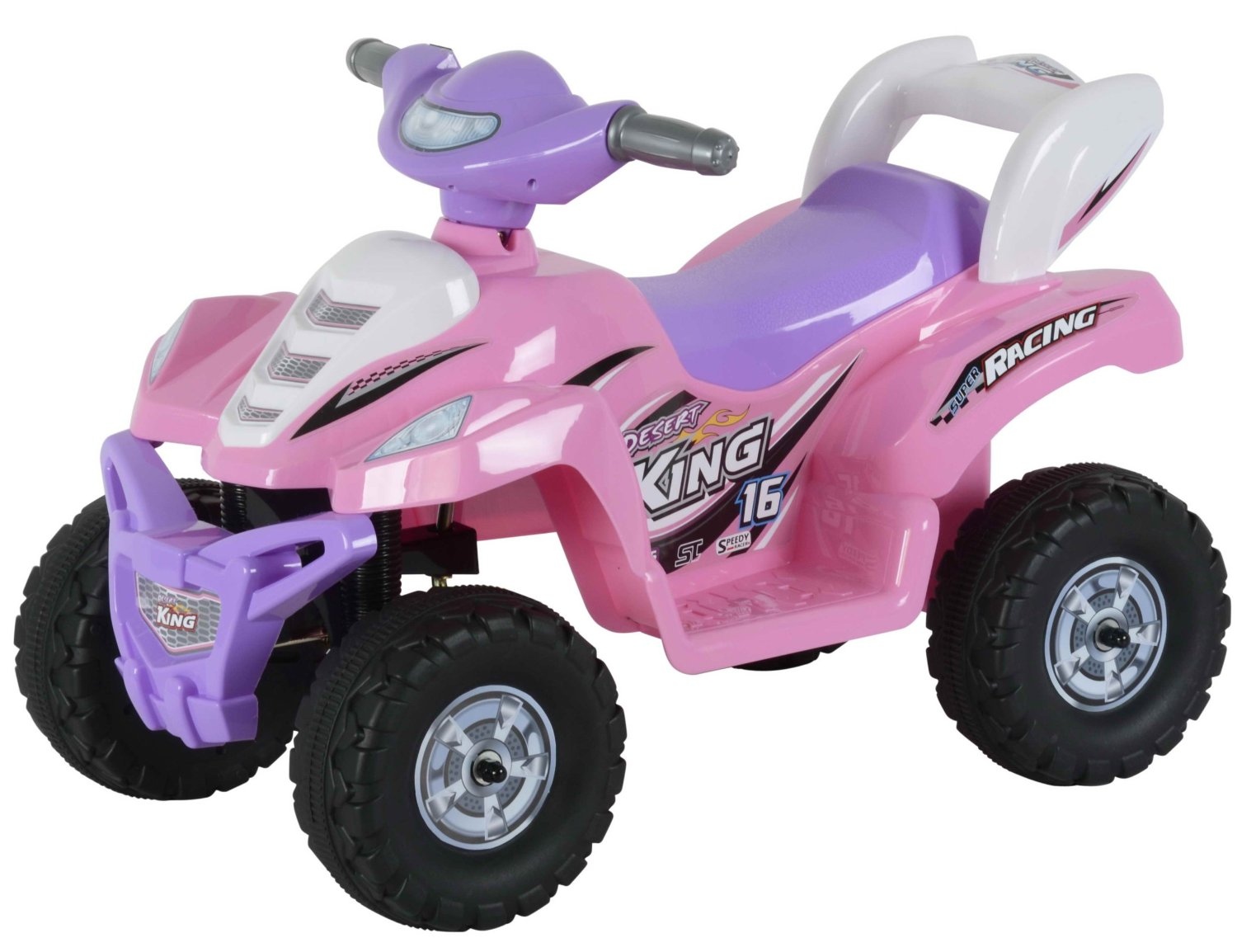 Best Ride On Cars 6V Little ATV Pink