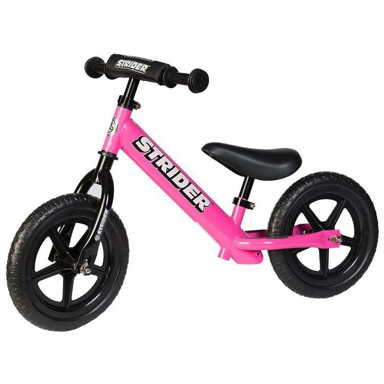 Strider 12 Sport No Pedal Balance Bike Pink