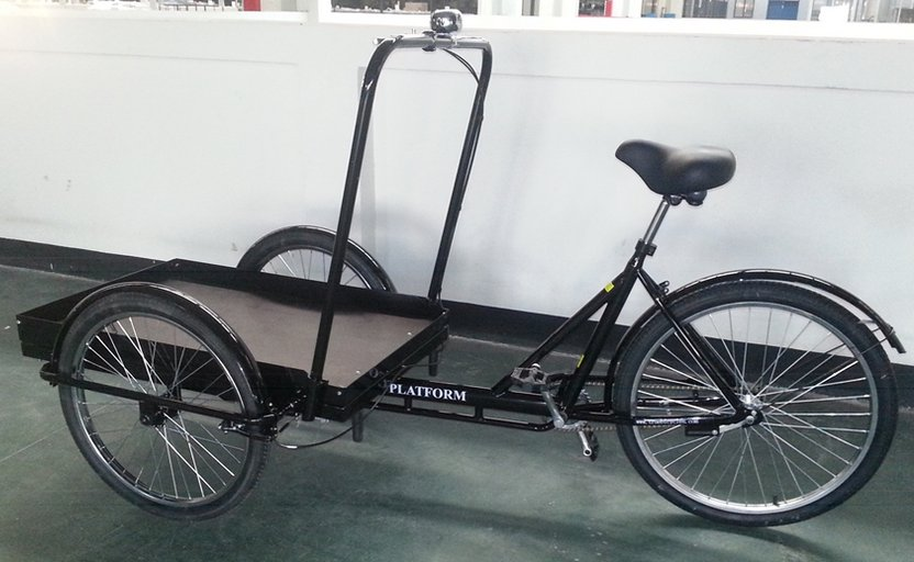 True Platform Industrial Tricycle