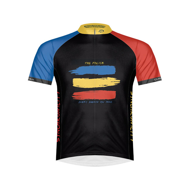 Primal The Police Synchronicity Cycling Jersey Primal Wear Small