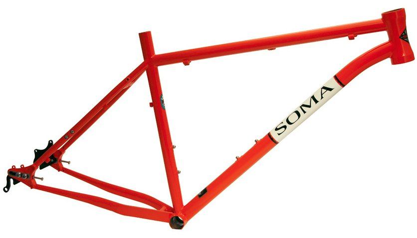 Soma B Side 275 650b Hardtail Frame V2 Gates Belt Drive