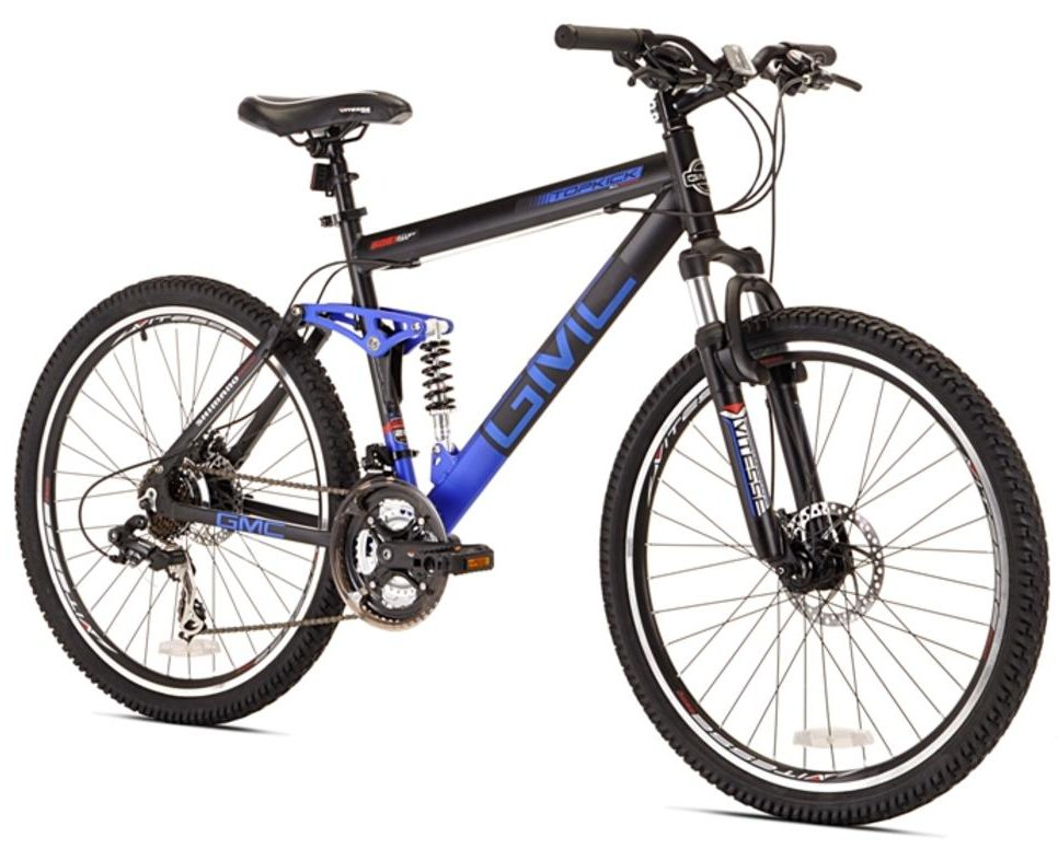 GMC Topkick Dual Suspension 21 Speed Mountain Bike