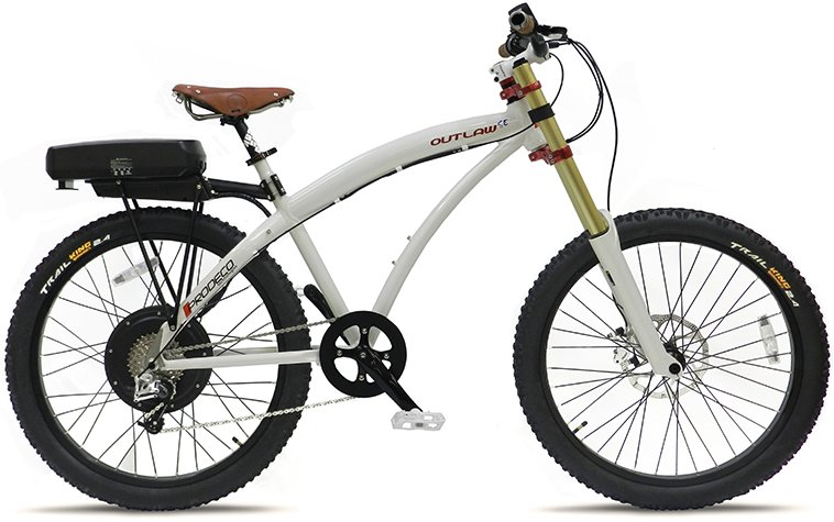 Prodeco Outlaw SE V4 48V 750W 8 Speed 12Ah Electric Bike