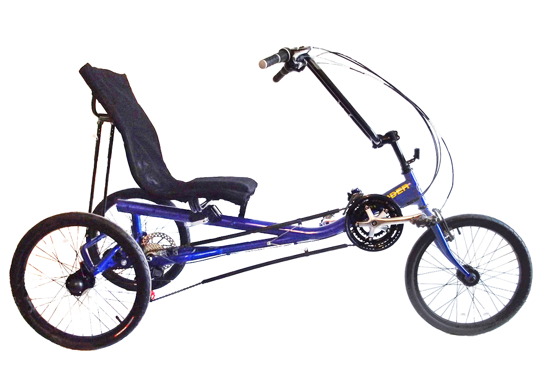 TRI RIDER R 2 Recumbent 21 Speed Tricycle