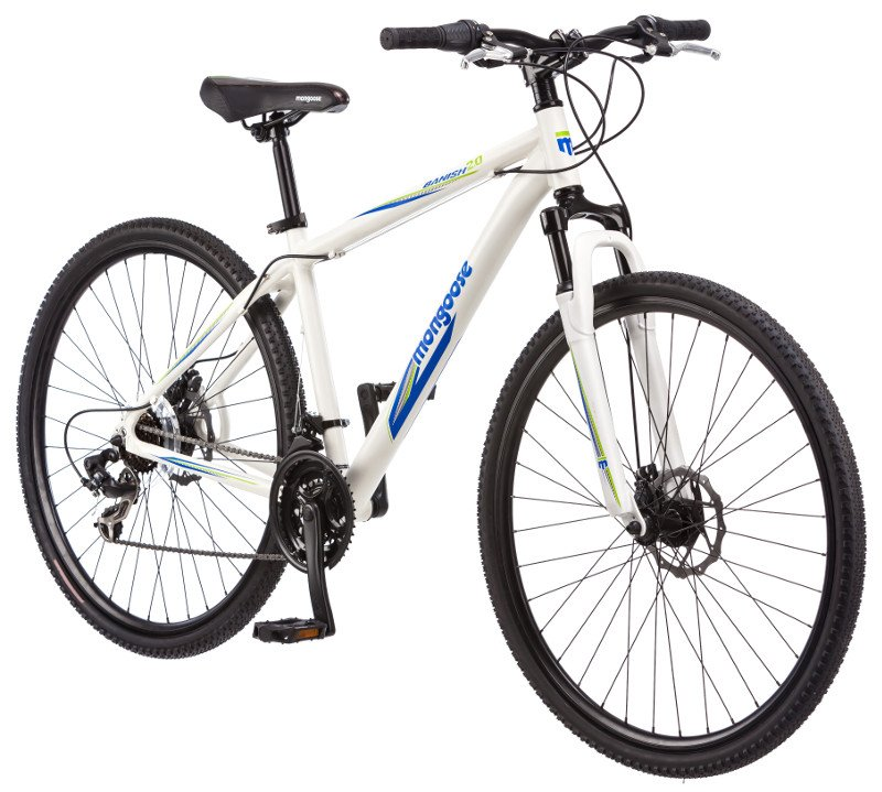 Mongoose Mens 29er Banish 21 Speed Mountain Bike