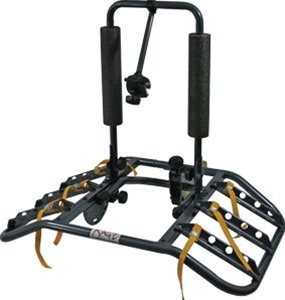 Rage 3 Bike Turtleback Shell Shaped Bicycle Hitch Rack