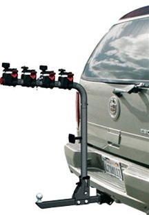Rage Eagle 2 + 2 Bicycle and Trailer Foldable Hitch Rack