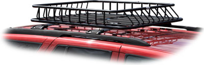 Rage Black Widow Roof Top Basket Cargo Carrier