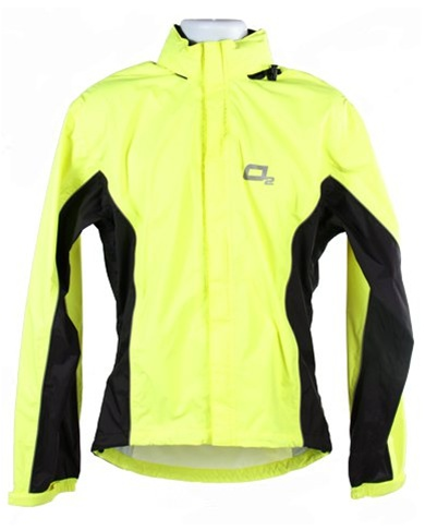 02 Rainwear Primary Series Hi Viz Jacket