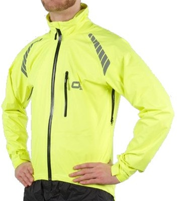 02 Rainwear Calhoun Hi Viz Yellow Cycling Jacket