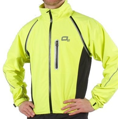 02 Rainwear Nokomis Hi viz Yellow Cycling Jacket / Vest