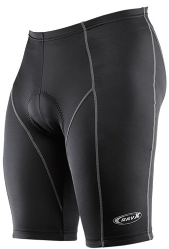 Ravx Men's Race 10 Panel Cycling Shorts