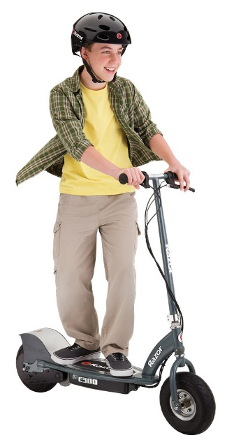 Razor E300s Seated Electric Scooter Gray