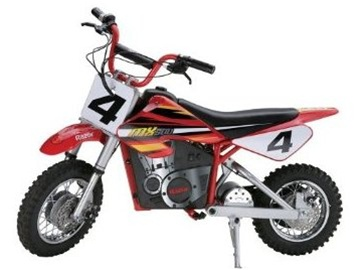 Razor Dirt Rocket MX 500 Electric Powered Replica Dirt Bike