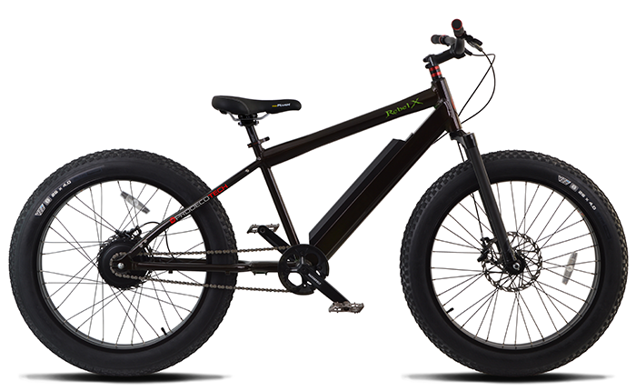 ProdecoTech Rebel X v5 600W 9 Speed Fat Tire e Bike