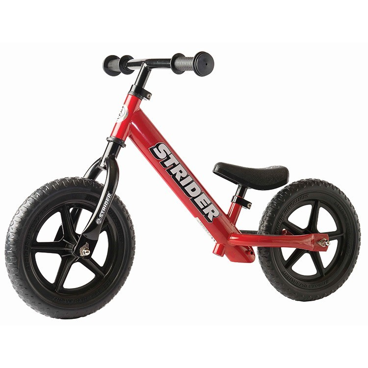 Strider 12 Classic No Pedal Balance Bike Red