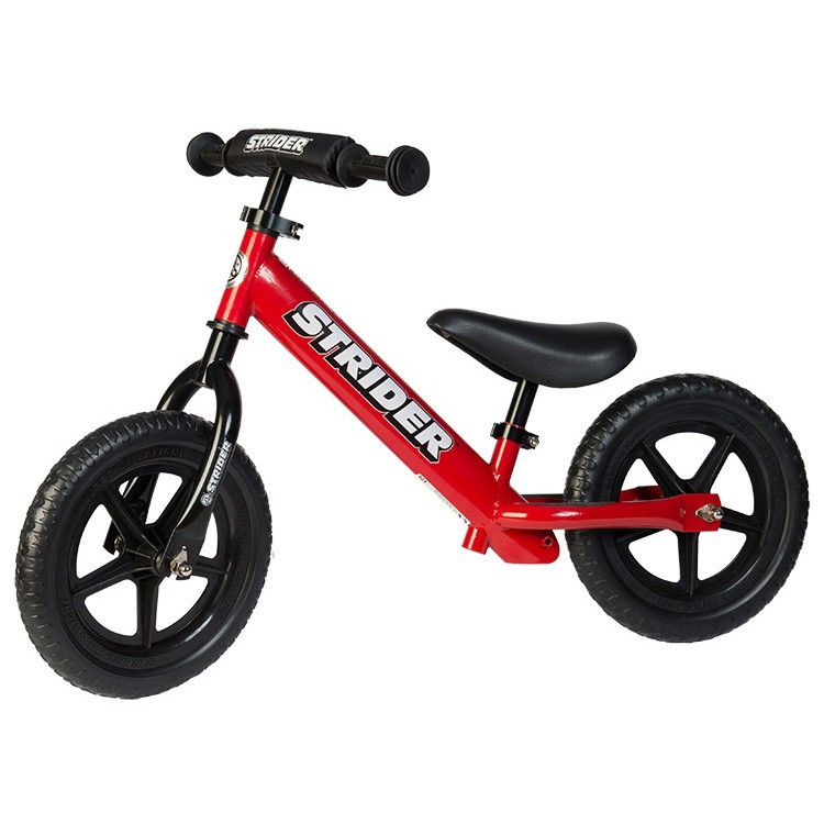 Strider 12 Sport No Pedal Balance Bike Red