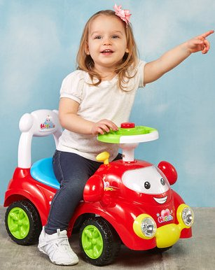 Best Ride on Cars Speedy Push Car Red