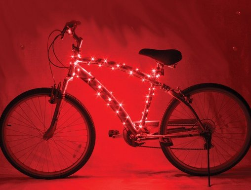 Cosmic Brightz Bicycle Lights Red