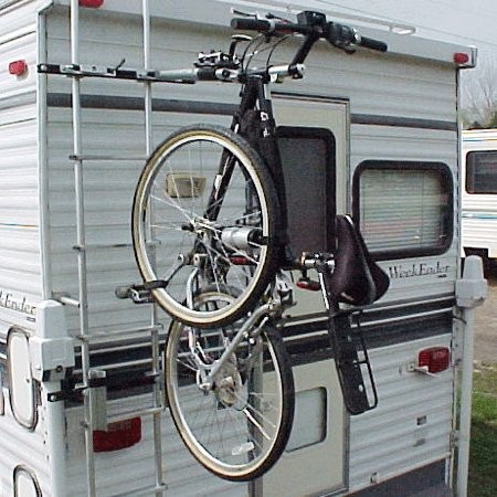 Renniks Ladder Mount Bike Rack Motor Homes RV's Conversion Vans