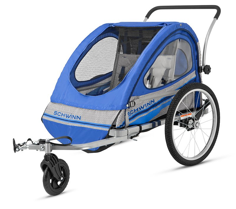 schwinn trailblazer single bike trailer manual