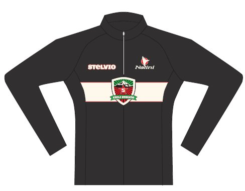 Ciclismo Stelvio Long Sleeve Cycling Jersey Large