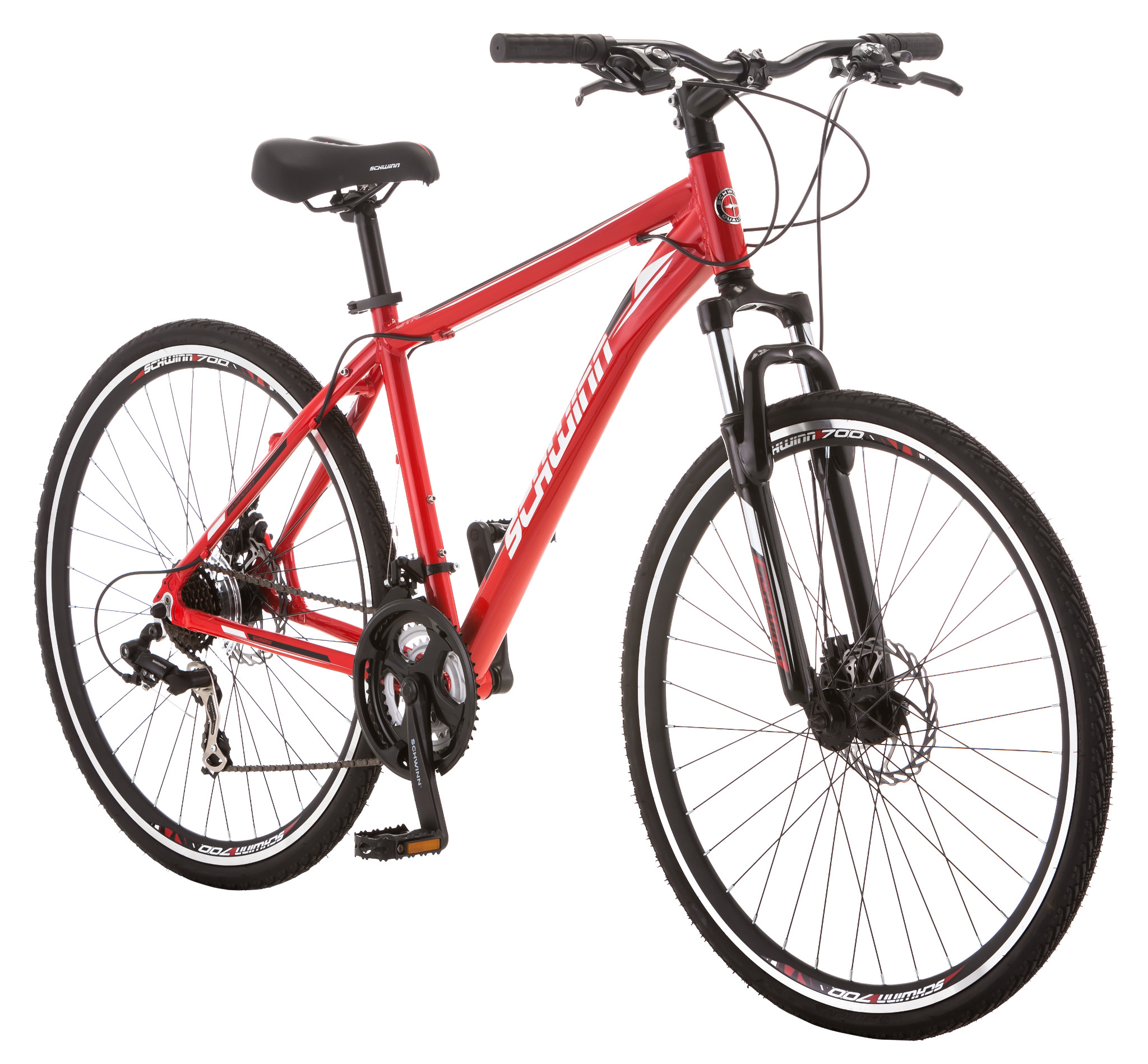 Schwinn GTX 2 21 Speed Commuter Bike Red