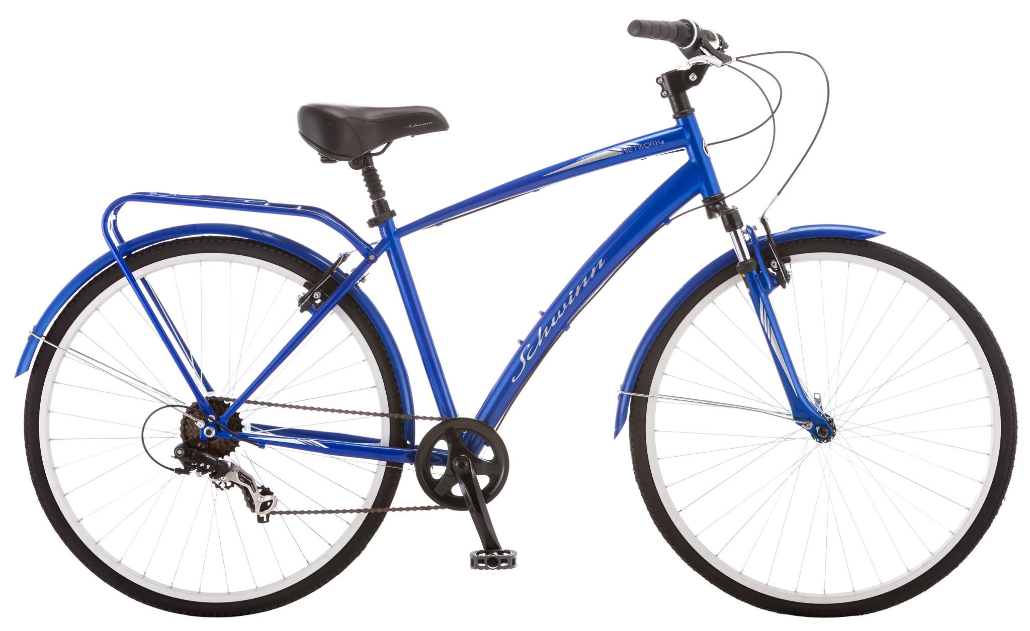 2 Seater Schwinn Bike Parts : Schwinn network men s speed hybrid city bike blue