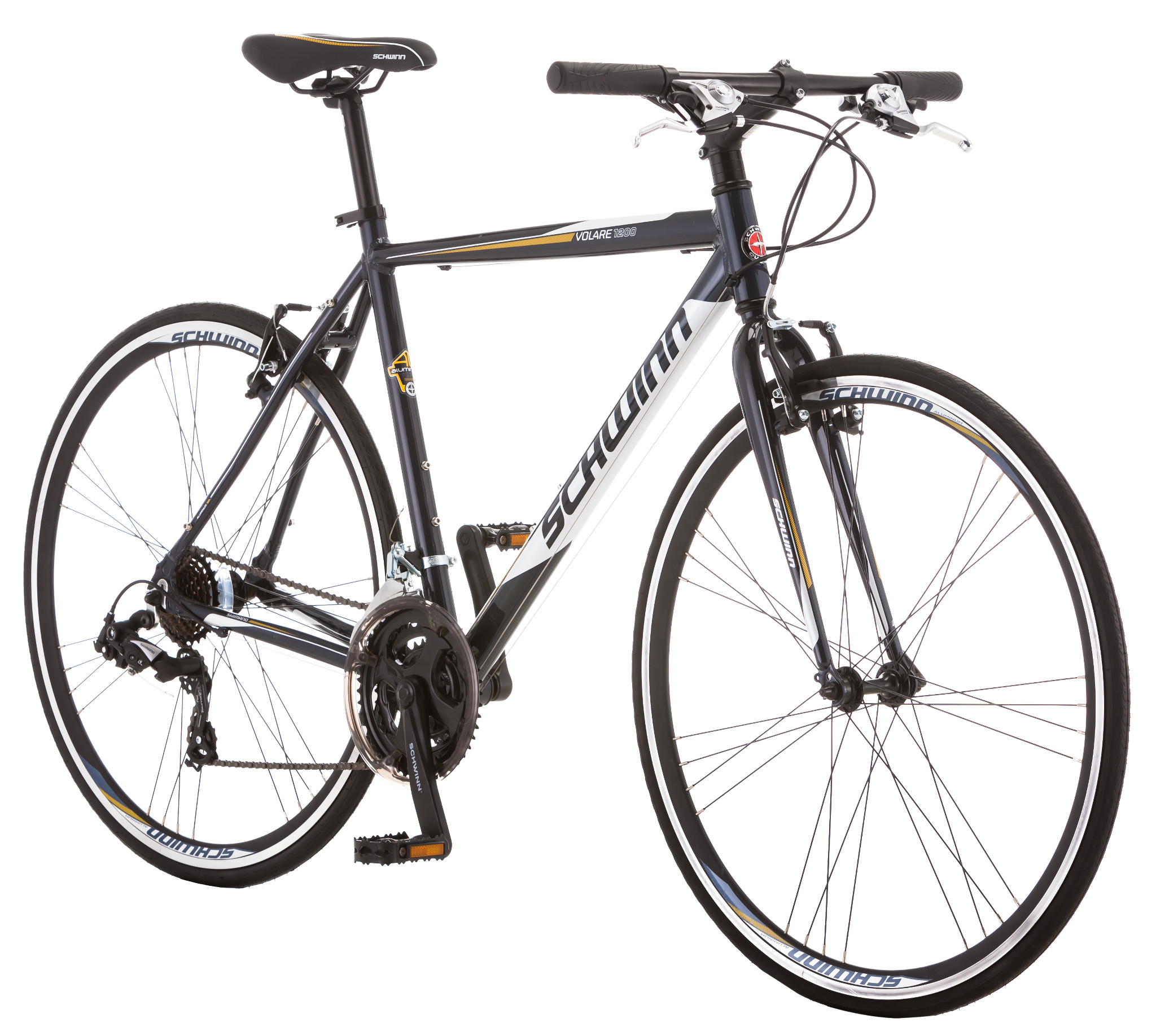 Schwinn Volare 1200 21 Speed Road Bike Gray
