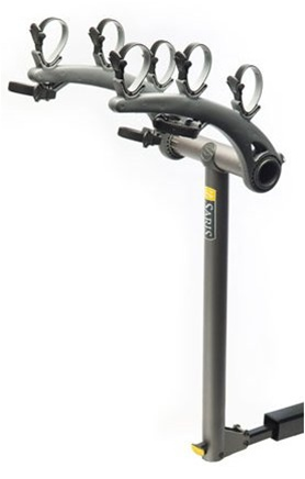 Saris Axis Steel 3 Bike Hitch Rack Black