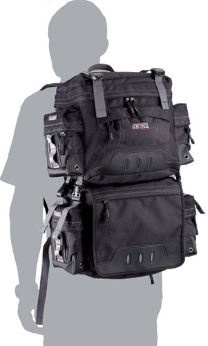SCICON TransAlp 2.0 Backpack to Panniers Touring Bags