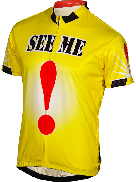 Its In My Heart See Me Bicycle Jersey Medium