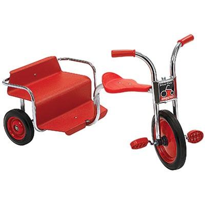 Silver Rider Rickshaw Playground Taxi Tandem Trike Bike