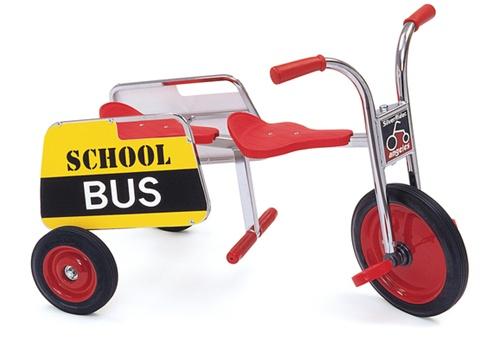 Silver Rider School Bus Tandem Trike