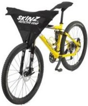 Skinz Protector for Mountain Bike with Front Wheel Attached