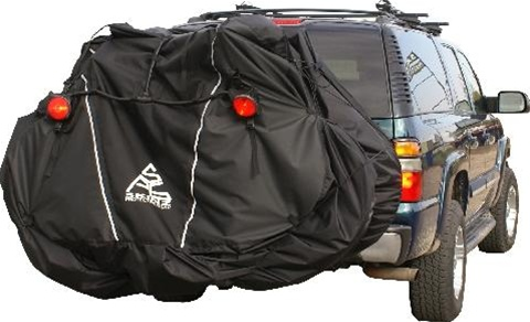 Skinz Rear Rack Transport Cover with Light Kit (1 2 Bikes Standard)