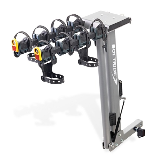 Softride Dura Assist Hydraulic Assisted 4 Bike Hitch Rack