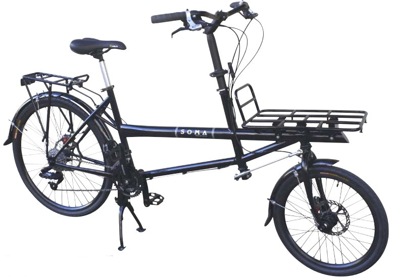 Soma Pick Up Artist Cargo Bike