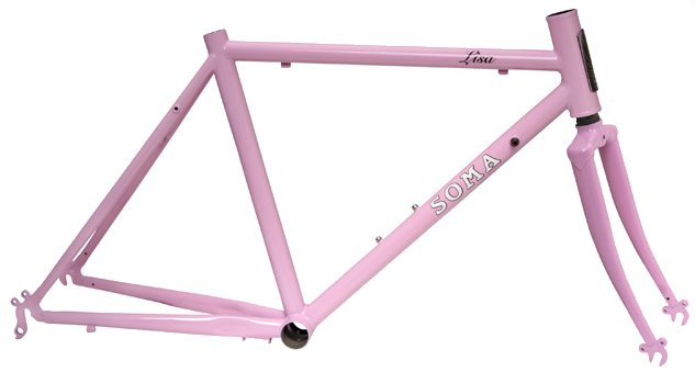 Soma Lisa Childs Road Frame and Fork