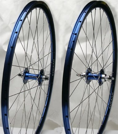 Soma Somax Blue Track Wheelset (Fixed/fixed Flip Flop)