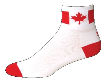 SOS Canada Cycling Socks