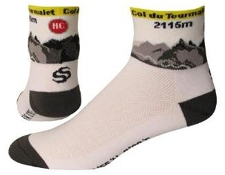 SOS Col du Tourmalet Cycling Socks