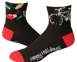 SOS Happy Holidays Cycling Socks