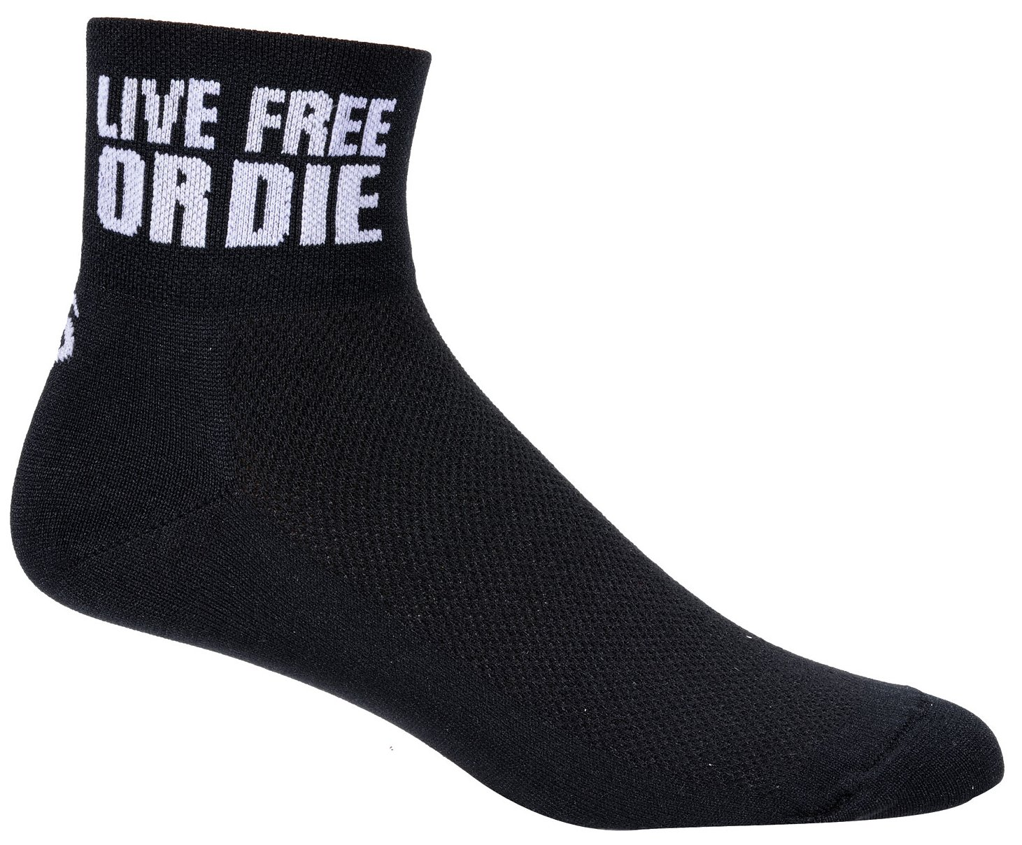 SOS New Hampshire Cycling Socks (Live Free or Die)