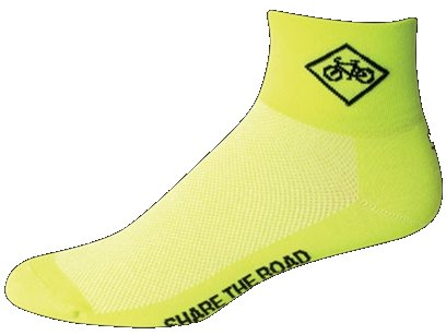 SOS Share The Road Cycling Socks