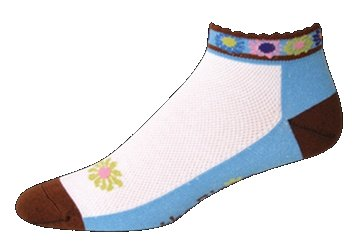 SOS The Bloom Womens Cycling Socks Brown
